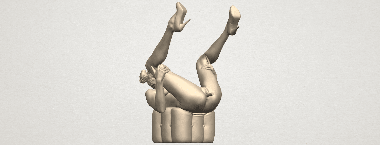 TDA0291 Naked Girl B08 A01.png Download free file Naked Girl B08 • Model to 3D print, GeorgesNikkei