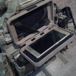WhatsApp-Image-2021-05-07-at-00.59.06.jpeg Download STL file Molle phone case • Object to 3D print, Rother