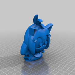 AmyHead.png Download free STL file Sonic.EXE Happy Meal Toys • 3D printing template, MintyFries
