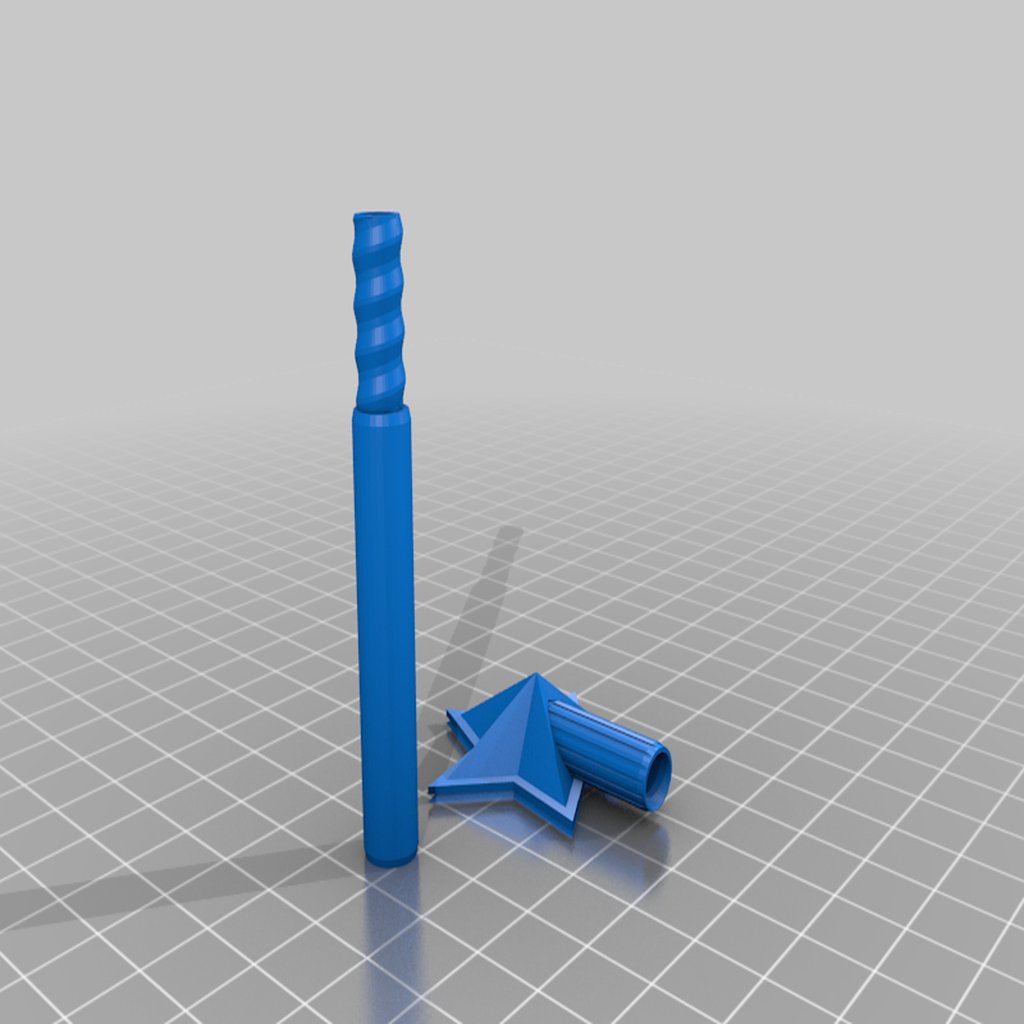 Salt_and_Pepper_Wand_Shaker_2.png Download free STL file Salt and Pepper Wand Shaker • 3D printable design, madebotix