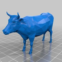 COW.jpg Download free 3DS file Cow • 3D printing object, MiniFabrikam