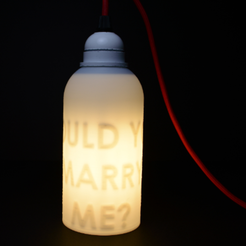"Capture d'écran 2017-05-17 à 17.11.15.png Download free STL file Secret message lamp ""WOULD YOU MARRY ME"" • 3D printable model, leFabShop"