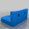 z-holder-new.png Download free STL file Ord bot Z axis holder for 8mm trapezoidal lead screw • Design to 3D print, victor999