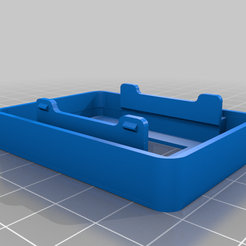 True-D_Cover.png Download free STL file True-D Module Bay & Cover for Osliang FPV Monitor • 3D printer object, Harald777