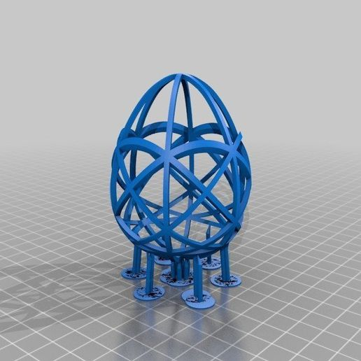 79780e9f0b217d6f768486e353757ae4_display_large.jpg Download free STL file Resin Easter Egg Collection • Object to 3D print, ChrisBobo