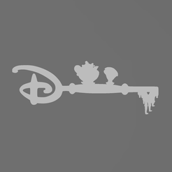 Capture.png Télécharger fichier STL Clef Belle et la bête - clé - key - beauty and the beast - disney - zip - Mrs Samovar - Potts • Objet pour impression 3D, tuningboy