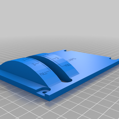 Flaps_Plate.png Download free STL file Airbus A320 Flaps Panel cover • 3D printing object, Theno
