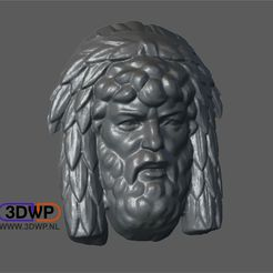 ManBasRelief.JPG Download free STL file Man Bas Relief (Sculpture 3D Scan) • 3D printing object, 3DWP