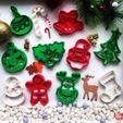 christmas_collection.jpg Download free STL file Christmas Tree Cookie Cutter • 3D printer model, OogiMe