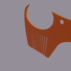 0001.png Download STL file Dog Comb • Object to 3D print, amadorcin
