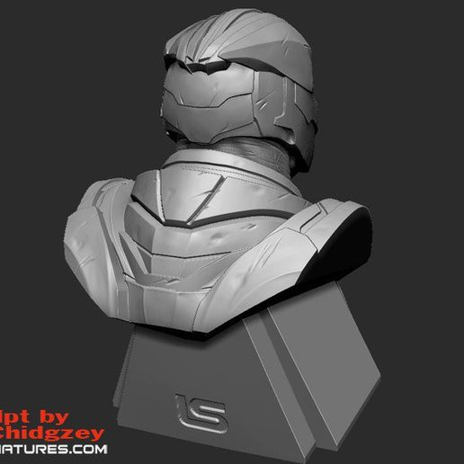 thanos_screencaps04cults.jpg Download free STL file Thanos Bust-from Avengers Endgame • 3D printable design, LSMiniatures