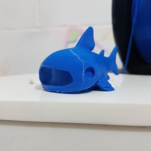 720X720-whaleshark.jpg Download free STL file Cute whale shark • 3D printer template, thePixelsChips