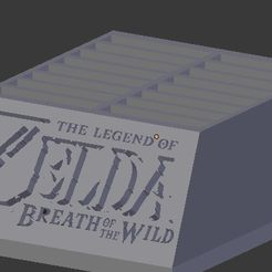 Sin título.jpg Download STL file BOTW Switch cartridge holder • 3D printable template, NelsonRB