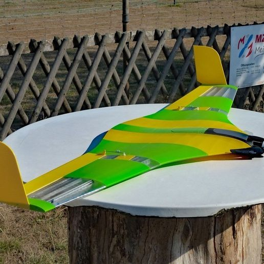 0e9ff5321cd1926b108d4d28323d7b3f_display_large.jpg Download free STL file Flying Wing Buratiny • 3D printing template, wersy