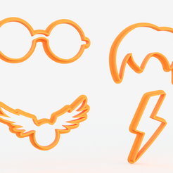 Screenshot_1.png Download file Harry Potter cookie cutter set of 4 • 3D print template, roxengames