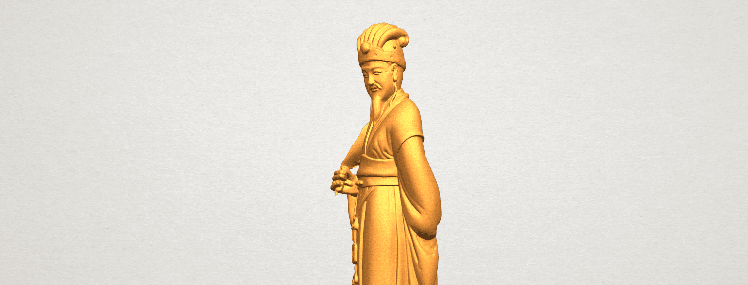 TDA0342 Zhu Ge Liang Kong Ming A08.png Download free STL file Zhu Ge Liang Kong Ming • 3D printer object, GeorgesNikkei