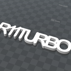 inage.png Download free STL file PERSONALIZABLE KEY RING R11TURBO • 3D print model, Ibarakel