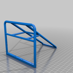 Cage_V_5.0.png Download STL file Cage for Bed Ass Bed Gspeed chassis • Template to 3D print, hans75b