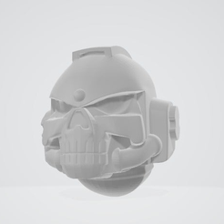 2019-07-28_1.png Download free OBJ file skull helmet • Template to 3D print, Smight
