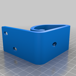 TFT35-E3_Front_mount_v11.png Download free STL file Front mount for ball socket joint • Object to 3D print, eddytheflow