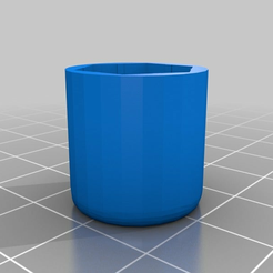 060dfcdec04b0337966041148058aecb.png Download free STL file Anet A8 - M8 Nut Long Cap • 3D printable object, Mederix