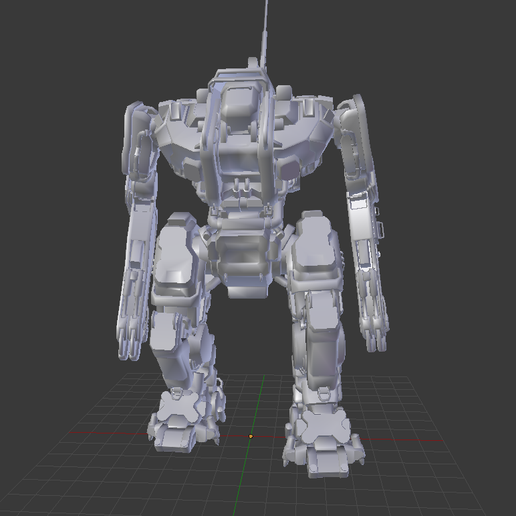 mover-Monarch.png Download free STL file Mover Monarch • 3D printable template, SmallRobotsInAContainer