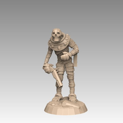 mh2-prom3g.jpg Download STL file Mummy Pack 1 • 3D printing object, SharedogMiniatures