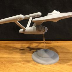 IMG_1976.JPG Download free STL file Star Trek Enterprise Original - No Support Cut • 3D printing object, Bengineer3D