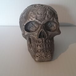 Celtic_Skull.jpg Download free STL file Celtic Skull • 3D printer template, intrepid