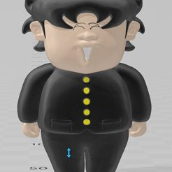 ICHIDO_REI.jpg Download 3MF file HICHIDO REI ( The Mad Mad Mad College ) • 3D print object, tonitendo