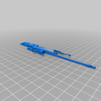 Sniper_csgo_awp_part_left.png Download free STL file CSGO Awp  CUTTED IN 2 PARTS • 3D print model, r083726