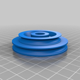 f5c3012ddf11a406d58b42e95102c207.png Download free SCAD file Emco Unimat 3 low and high speed pulley set • 3D printer design, 1944GPW