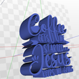 Screenshot-(513).png Download STL file Coffee Gets Me Started Jesus Keeps Me Going Quote • 3D printable object, AKXY