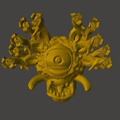bh1.jpg Download free STL file D&D Banana Beholder • 3D print model, BigMrTong