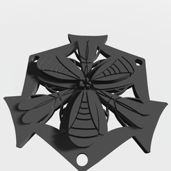 20200317_155502361_Mandoo v4.png Download STL file Abstract geometric pendant • Design to 3D print, victor999