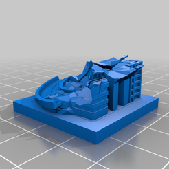 20201019.png Download free STL file GreebleCity Ruins: A Terrible Turn • 3D printable template, Fisk400