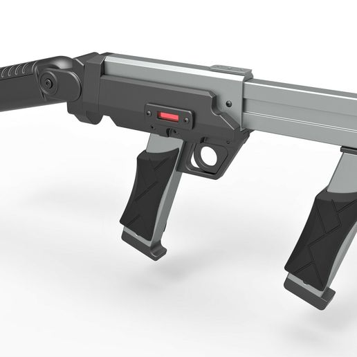15.jpg Download STL file Blaster rifle from the movie Lost in space 1998 • 3D print model, CosplayItemsRock