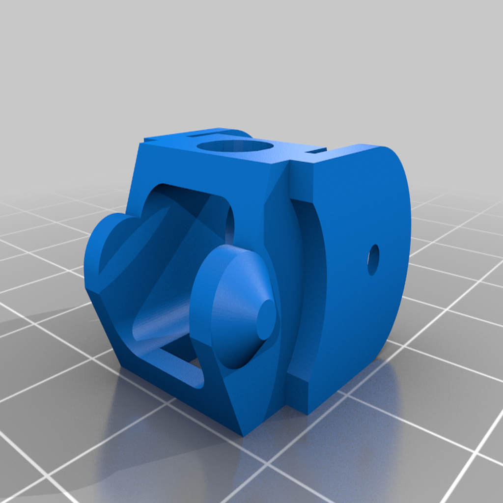 ChainLink.png Download free STL file Heated bed Zonestar Z6 Drag Chain • Design to 3D print, mbernalcu