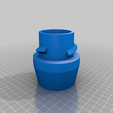 Straight_Sleeve_fitting_V4.0.png Download free SCAD file rLab Unified Dust Collection System • 3D printing design, Steve_rLab