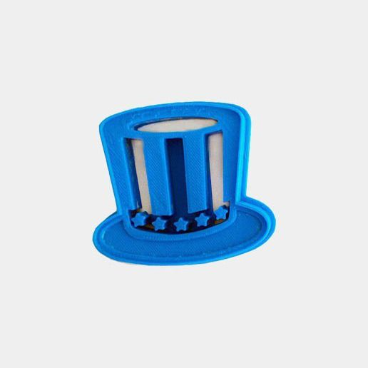 top-downloads3.jpg Télécharger fichier STL gratuit Uncle Sam's Hat Cookie Cutter (4th of July Special Edition) • Design à imprimer en 3D, OogiMe