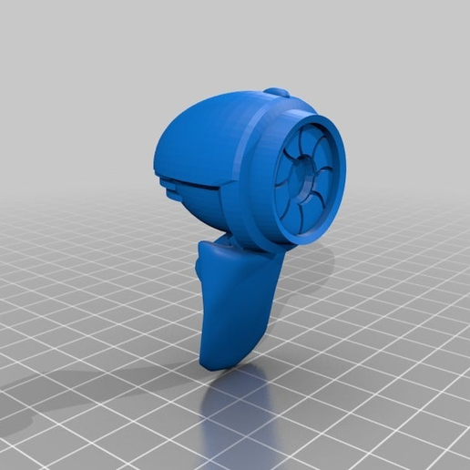 2cc791e7b7d11165da5910b6149328f7.png Download free STL file Mr. Handy (with guts) - Fallout 4 • 3D printing object, FreeBug
