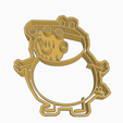 Papa.png Download STL file PEPPA PIG PAPA COOKIE CUTTER • 3D printing object, KDASH