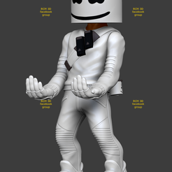 Add Watermark20200623074031 (3).png Download STL file Fortnite Marshmellow  • 3D printable object, RCM3D