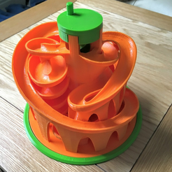 Capture d'écran 2017-10-24 à 17.18.21.png Download free STL file Base and alternative turncap for Marble Machine 3 • Model to 3D print, tone001