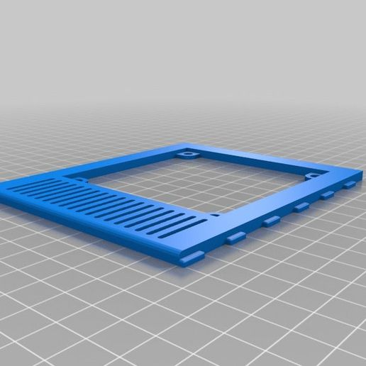 92b654062ab0b2d8d6be3de2544d0bd7.png Download free STL file Motherboard\Fan cover for Zonestar P802QR2 Publish 2 • Object to 3D print, boothyboothy