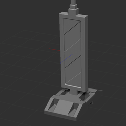 1.png Download STL file Guide beacon for directing traffic and lanes • 3D print object, NICOCO3D