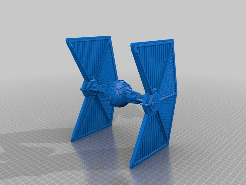 f701b3ad4a9ebbe45621abf06991f4ca.png Download free STL file Mining Guild TIE Fighter (Star Wars Legion scale) • Model to 3D print, McAnultyMiniatures