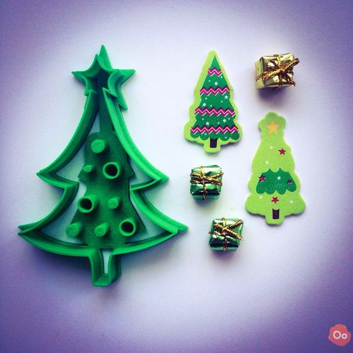 Christmas_Tree__Cookie_Cutter_1.jpg Download free STL file Christmas Tree Cookie Cutter • 3D printer model, OogiMe