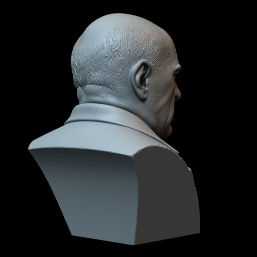 Hank07.RGB_color.jpg Download STL file Hank Schrader (Dean Norris) from Breaking Bad • Template to 3D print, sidnaique