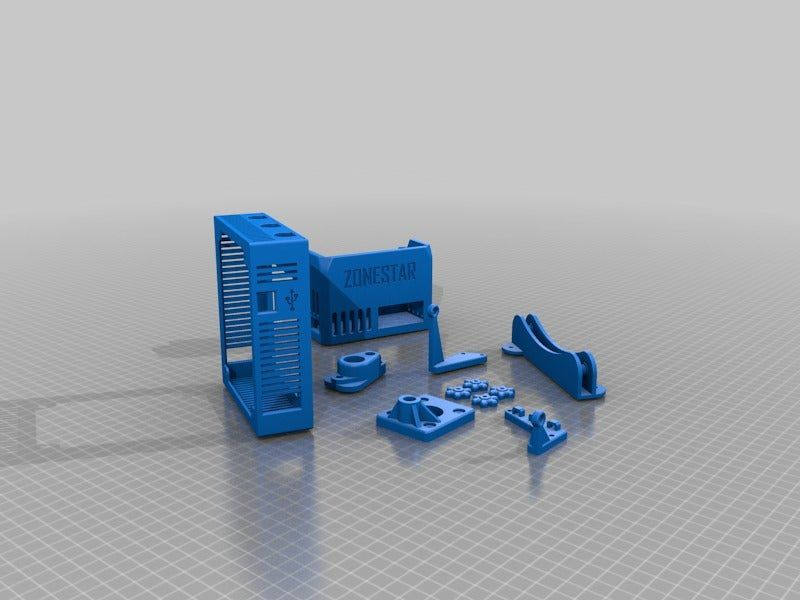 a08bd213f71769f300f01f8afb344c2b.png Download free 3DS file Collection of upgrades for the Zonestar P802QR2 • 3D printing object, boothyboothy